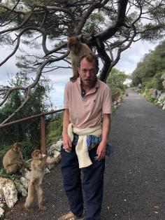 Eddie + monkey